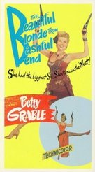 The Beautiful Blonde from Bashful Bend - VHS cover (xs thumbnail)