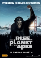 Rise of the Planet of the Apes - Australian Movie Poster (xs thumbnail)