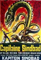 Captain Sindbad - Belgian Movie Poster (xs thumbnail)