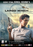 Largo Winch - Polish Movie Poster (xs thumbnail)
