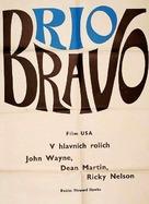 Rio Bravo - Czech Movie Poster (xs thumbnail)