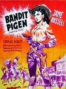 Montana Belle - Danish Movie Poster (xs thumbnail)