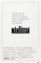 Manhattan - Theatrical poster (xs thumbnail)