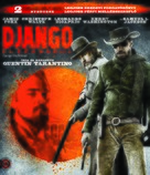 Django Unchained - Hungarian Movie Cover (xs thumbnail)