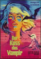 The Kiss of the Vampire - German Movie Poster (xs thumbnail)
