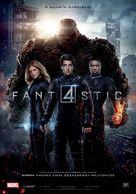 Fantastic Four - Greek Movie Poster (xs thumbnail)
