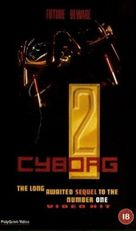 Cyborg 2 - British Movie Cover (xs thumbnail)