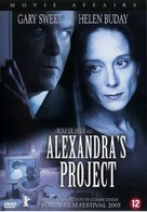 Alexandra's Project - Dutch DVD cover (xs thumbnail)