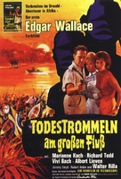 Death Drums Along the River - German Movie Poster (xs thumbnail)