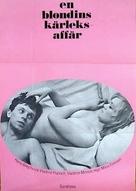 Lásky jedné plavovlásky - Swedish Movie Poster (xs thumbnail)