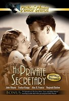 His Private Secretary - DVD cover (xs thumbnail)