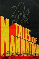 Tales of Manhattan - poster (xs thumbnail)
