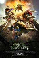 Teenage Mutant Ninja Turtles - Singaporean Theatrical movie poster (xs thumbnail)