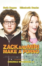 Zack and Miri Make a Porno - British Movie Poster (xs thumbnail)
