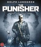 The Punisher - Danish Blu-Ray cover (xs thumbnail)