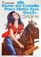 Komm, liebe Maid und mache - Italian Movie Poster (xs thumbnail)