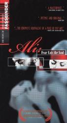 Angst essen Seele auf - VHS movie cover (xs thumbnail)