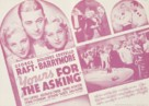 Yours for the Asking - poster (xs thumbnail)