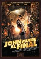 John Dies at the End - Spanish Movie Poster (xs thumbnail)