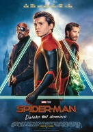 Spider-Man: Far From Home - Czech Movie Poster (xs thumbnail)