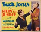 Ridin' for Justice - Movie Poster (xs thumbnail)