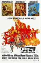 The Dirty Dozen - Spanish Movie Poster (xs thumbnail)