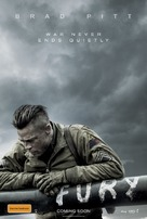 Fury - Australian Movie Poster (xs thumbnail)