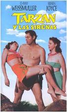 Tarzan and the Mermaids - Spanish VHS movie cover (xs thumbnail)