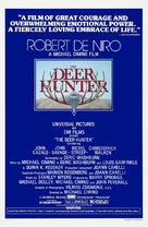 The Deer Hunter - Theatrical movie poster (xs thumbnail)