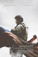 American Sniper - Croatian Movie Poster (xs thumbnail)