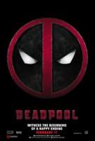 Deadpool - Lebanese Movie Poster (xs thumbnail)