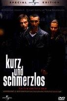 Kurz und schmerzlos - German Movie Cover (xs thumbnail)