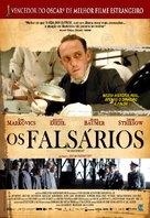Die Fälscher - Brazilian Movie Poster (xs thumbnail)