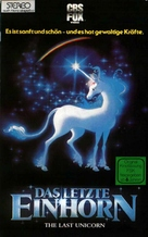 The Last Unicorn - German VHS cover (xs thumbnail)
