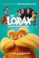The Lorax - Dutch Movie Poster (xs thumbnail)
