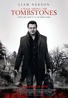 A Walk Among the Tombstones - Malaysian Movie Poster (xs thumbnail)