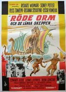 The Long Ships - Swedish Movie Poster (xs thumbnail)