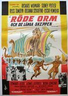 The Long Ships - Swedish Movie Poster (xs thumbnail)