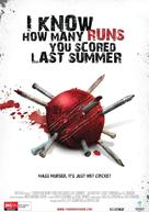 I Know How Many Runs You Scored Last Summer - Australian Movie Poster (xs thumbnail)