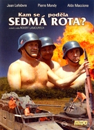 Mais où est donc passèe la septiéme compagnie? - Czech DVD cover (xs thumbnail)