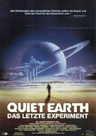 The Quiet Earth - German Movie Poster (xs thumbnail)