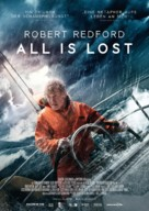 All Is Lost - German Movie Poster (xs thumbnail)