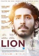 Lion - Italian Movie Poster (xs thumbnail)