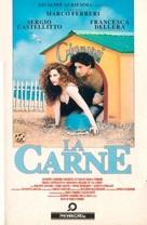 La carne - Italian VHS cover (xs thumbnail)