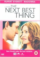 The Next Best Thing - British DVD cover (xs thumbnail)