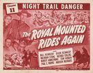 The Royal Mounted Rides Again - Movie Poster (xs thumbnail)