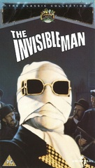 The Invisible Man - British VHS movie cover (xs thumbnail)