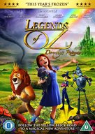 Legends of Oz: Dorothy's Return - British DVD cover (xs thumbnail)