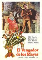 Maciste il vendicatore dei Maya - Spanish Movie Poster (xs thumbnail)