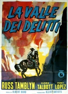 The Young Guns - Italian Movie Poster (xs thumbnail)